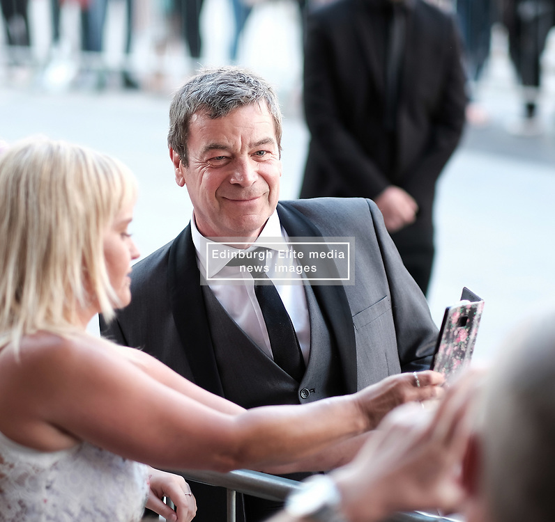British Soap Awards, Saturday 3rd June 2017<br /> <br /> Stars arrive on the red carpet for the British Soap Awards 2017<br /> <br /> Richard Hawley from Coronation Street <br /> <br /> (c) Alex Todd | Edinburgh Elite media