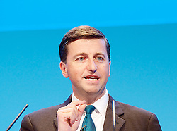 Labour Party Conference.<br /> Shadow Foreign Secretary Douglas Alexander during the Labour Annual Conference at the Brighton Conference Centre, Brighton, United Kingdom. Monday, 23rd September 2013. Picture by Elliot Franks / i-Images