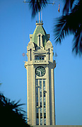 Aloha Tower, Honolulu, Oahu, Hawaii, USA<br />