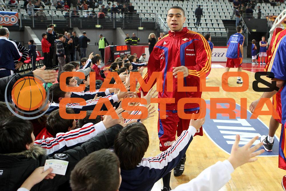DESCRIZIONE : Roma Lega A1 2008-09 Lottomatica Virtus Roma Gmac Fortitudo Bologna <br /> GIOCATORE : tifosi Ibrahim Jaaber<br /> SQUADRA : Lottomatica Virtus Roma <br /> EVENTO : Campionato Lega A1 2008-2009 <br /> GARA : Lottomatica Virtus Roma Gmac Fortitudo Bologna <br /> DATA : 01/02/2009 <br /> CATEGORIA : before<br /> SPORT : Pallacanestro <br /> AUTORE : Agenzia Ciamillo-Castoria/G.Ciamillo
