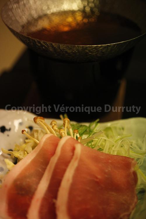 Japanese fondue / Fondue japonaise