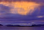 Storm light on Humber River<br /> Near York Harbour<br /> Newfoundland & Labrador<br /> Canada