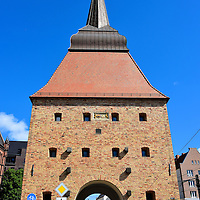Steintor Gate in Rostock, Germany in Rostock, Germany<br />