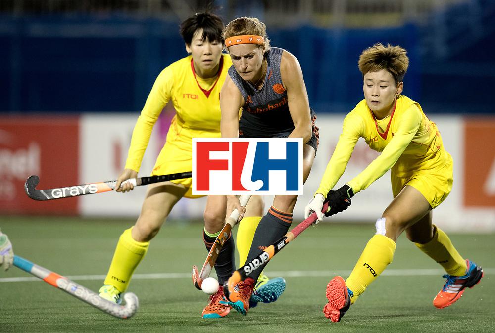 AUCKLAND - Sentinel Hockey World League final women<br /> Match id: 10305<br /> 16 NED v CHina (QF)<br /> Foto: Carlien Dirkse van den Heuvel  <br /> WORLDSPORTPICS COPYRIGHT FRANK UIJLENBROEK