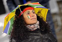 14.06.2010, Cape Town Stadium, Kapstadt, RSA, FIFA WM 2010, Italien vs Paraguay im Bild bildbübsche Italienerinnen die ihre Mannschaft anfeuern, EXPA Pictures © 2010, PhotoCredit: EXPA/ InsideFoto/ G. Perottino, ATTENTION! FOR AUSTRIA AND SLOVENIA ONLY!!! / SPORTIDA PHOTO AGENCY