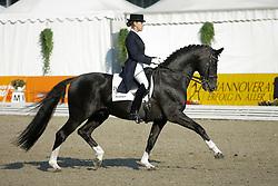 Wahler Theresa, GER, De Niro <br /> World Championship Young dressage horses Verden 2007<br /> © Hippo Foto - Stefan Lafrentz<br /> 06/08/07