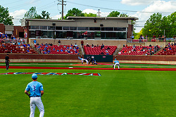 25 May 2019:   Missouri Valley Conference Baseball Tournament - Dallas Baptist Patriots v Indiana State Sycamores at Duffy Bass Field in Normal IL<br /> <br /> #MVCSPORTS