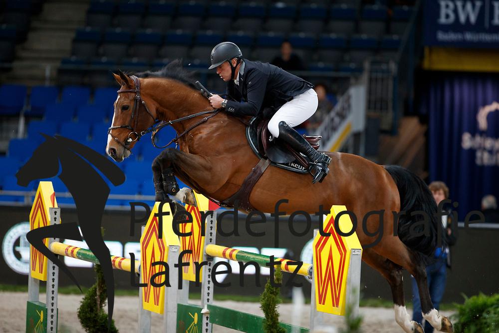 Bost, Roger Yves (FRA) Qoud´Coeur de la Loge<br /> Stuttgart - German Masters 2016<br /> © www.sportfotos-lafrentz.de