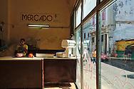 A statu-run shop in Centro habana