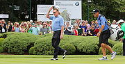 Miguel Angel JIMÉNEZ approaching the 1st hole during the 4th day of the BMW PGA Championship at Wentworth, Virginia Water, United Kingdom on 24 May 2015. Photo by Ellie  Hoad.