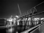 Tarmac jetty, Hiroshima Promenade<br /> <br /> January 2003