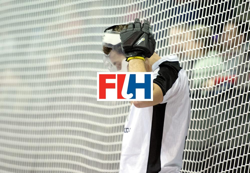 BERLIN - Indoor Hockey World Cup<br /> Quarterfinal 2: Austria - Poland<br /> foto: Face Protection<br /> WORLDSPORTPICS COPYRIGHT FRANK UIJLENBROEK