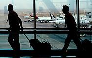 A flight crew walks through Denver International Airport in Denver, Colorado U.S. November 3, 2017. REUTERS/Rick Wilking