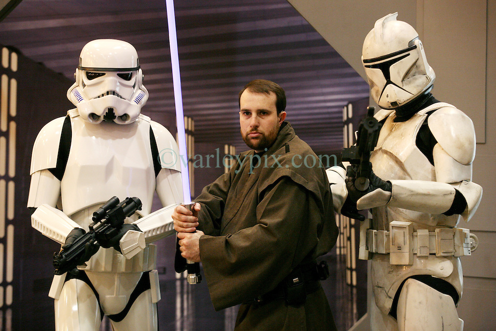 29 Jan 2012. New Orleans, Louisiana USA. <br /> Star Wars and comic book characters gather at the Wizard World New Orleans Comic Con at the Ernest N Morial Convention Center. <br /> Photo; Charlie Varley/varleypix.com