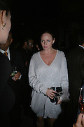STELLA MCCARTNEY, Dinner given by Established and Sons to celebrate Elevating Design.  P3 Space. University of Westminster, 35 Marylebone Rd. London NW1. -DO NOT ARCHIVE-© Copyright Photograph by Dafydd Jones. 248 Clapham Rd. London SW9 0PZ. Tel 0207 820 0771. www.dafjones.com.