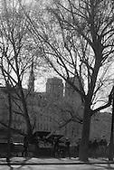 France. Paris. 4th district. Pont louis Phillipe bridge  over the seine river between le Marais and Saint louis island, /  le pont louis Phillipe traverse la seine du Marais a l ile saint Louis