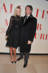 TIM & MALIN JEFFERIES at a private view of 'Valentino: Master Of Couture' at Somerset House, London on 28th November 2012.