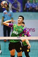 BANGKOK, THAILAND - MARCH 01: Kantapat Koonmee of Air Force VC #16 in action during the 2016–17 Men's Volleyball Thailand League Championship, Chantarubeksa Air Force Stadium, Bangkok, Thailand on October 01, 2017.<br /> .<br /> .<br /> .<br /> (Photo by: Naratip Golf Srisupab/SEALs Sports Images)<br /> .<br /> Any image use must include a mandatory credit line adjacent to the content which should read: Naratip Golf Srisupab/SEALs Sports Images