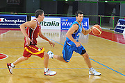DESCRIZIONE : Firenze I&deg; Torneo Nelson Mandela Forum Italia Macedonia<br /> GIOCATORE : Marco Carraretto<br /> SQUADRA : Nazionale Italia Uomini <br /> EVENTO : I&deg; Torneo Nelson Mandela Forum <br /> GARA : Italia Macedonia<br /> DATA : 16/07/2010 <br /> CATEGORIA : Palleggio<br /> SPORT : Pallacanestro <br /> AUTORE : Agenzia Ciamillo-Castoria/M.Gregolin<br /> Galleria : Fip Nazionali 2010