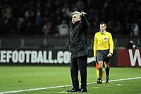 FOOTBALL - FRENCH CHAMPIONSHIP 2011/2012 - L1 - PARIS SAINT GERMAIN v TOULOUSE FC  - 14/01/2012 - PHOTO JEAN MARIE HERVIO / REGAMEDIA / DPPI - CARLO ANCELOTTI (COACH PSG)