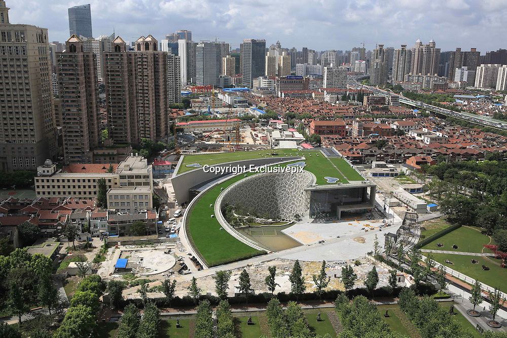 SHANGHAI, CHINA - JULY 31: (CHINA OUT) <br /> <br /> Shanghai Natural History Museums New Building Is Completed<br /> <br /> A general view of Shanghai Natural History Museum's new building on July 31, 2014 in Shanghai, China. New building of Shanghai Natural History Museum with 12 ecological and energy saving technologies was completed on July 31 and planned to open before the end of 2014.<br /> ©Exclusivepix