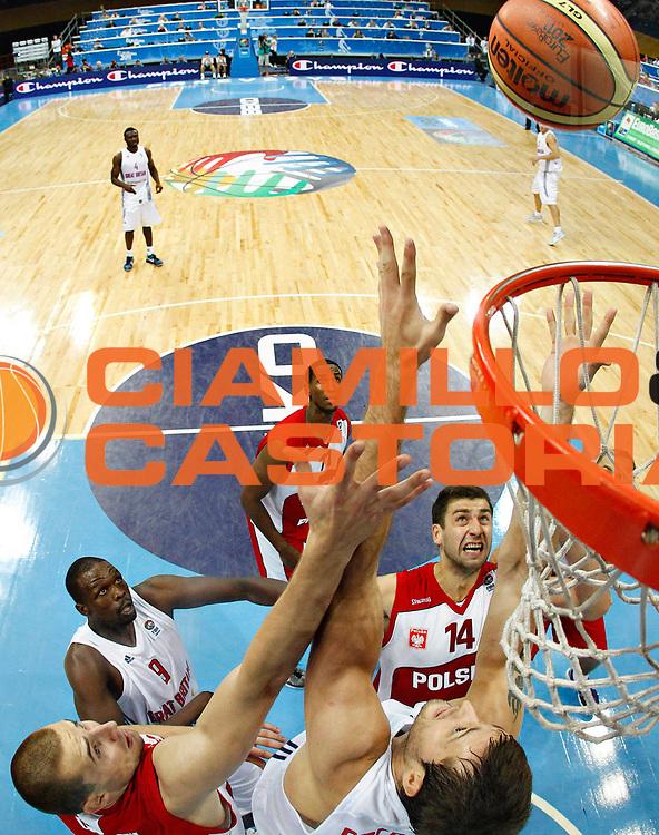 DESCRIZIONE : Panevezys Lithuania Lituania Eurobasket Men 2011 Preliminary Round Inghilterra Polonia Great Britain Poland<br /> GIOCATORE : Adam Hrycaniuk <br /> SQUADRA : Polonia Poland<br /> EVENTO : Eurobasket Men 2011<br /> GARA : Inghilterra Polonia Great Britain Poland<br /> DATA : 05/09/2011 <br /> CATEGORIA : tiro shot special<br /> SPORT : Pallacanestro <br /> AUTORE : Agenzia Ciamillo-Castoria/L.Kulbis<br /> Galleria : Eurobasket Men 2011 <br /> Fotonotizia : Panevezys Lithuania Lituania Eurobasket Men 2011 Preliminary Round Inghilterra Polonia Great Britain Poland<br /> Predefinita :