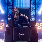 NLD/Hilversum/20180216 - Finale The voice of Holland 2018, Demi van Wijngaarden treedt op