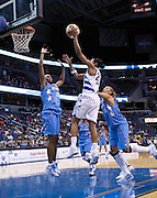 Lindsey Harding and the Washington Mystics defeat the Atlanta Dream 82-64, September 12, 2009.