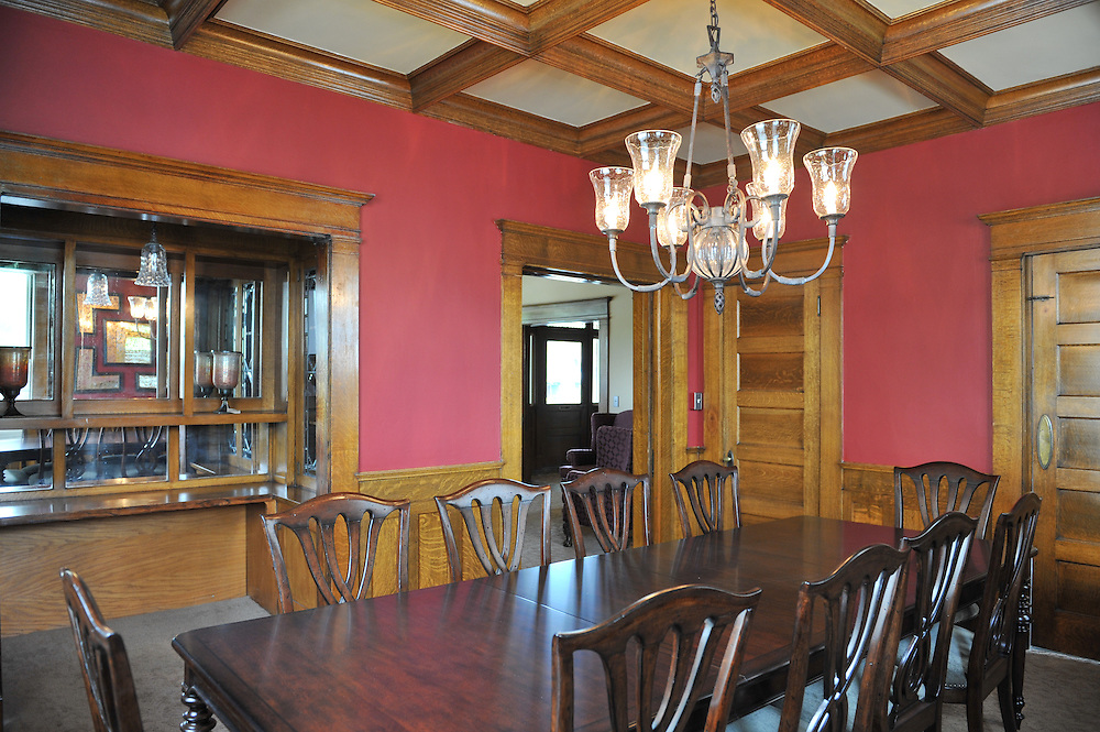 Huetter Mansion remodel