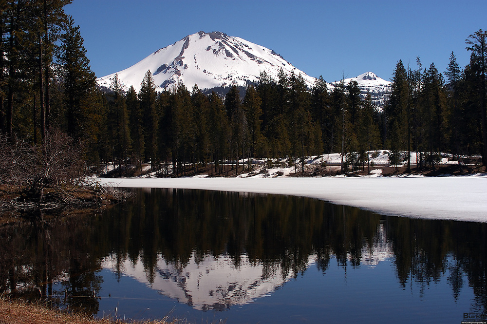 Lassen Volcanic National Park in California provides a wealth of fun activities that are as varied as the seasons of the park. Due to the high elevation and influence of the Pacific Ocean, the park receives upwards of 40 feet of snow per year.  The dominant feature of the park is Lassen Peak; the largest plug dome volcano in the world and the southern-most volcano in the Cascade Range.  The park is located about 45 miles east of Redding.