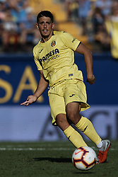 September 30, 2018 - Villarreal, Castellon, Spain - Pablo Fornals of Villarreal CF in action during the La Liga match between Villarreal CF and Real Valladolid at Estadio de la Ceramica on September 30, 2018 in Vila-real, Spain  (Credit Image: © David Aliaga/NurPhoto/ZUMA Press)