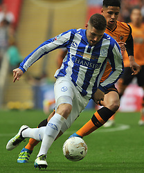 GARY HOOPER SHEFFIELD WEDNESDAY  Hull City v Sheffield Wednesday Sky Bet Championship Play-Off Final, Wembley Stadium Saturday  28th May 2016.<br /> Photo:Mike Capps