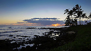 Timelapse, Sunset, Poipu, Kauai, Hawaii