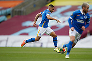 Brighton and Hove Albion forward Neal Maupay (7) during the Premier League match between Burnley and Brighton and Hove Albion at Turf Moor, Burnley, England on 26 July 2020.