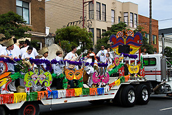 California: San Francisco Carnaval festival parade in the Mission District. Photo copyright Lee Foster. Photo # 30-casanf81320