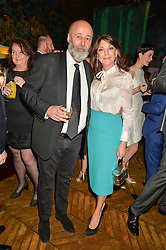 RICHARD & SUSAN YOUNG at an Evening of Riviera Inspired Glamour in aid of CLIC Sargentheld at Sketch, 9 Conduit Street, London on 25th January 2016.