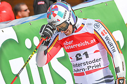 26.10.2019, Hannes Trinkl Weltcupstrecke, Hinterstoder, AUT, FIS Weltcup Ski Alpin, Riesenslalom, Herren, 2. Lauf, im Bild Stefan Luitz (GER) // Stefan Luitz of Germany reacts after his 2nd run of men's Giant Slalom of FIS ski alpine world cup at the Hannes Trinkl Weltcupstrecke in Hinterstoder, Austria on 2019/10/26. EXPA Pictures © 2020, PhotoCredit: EXPA/ Erich Spiess