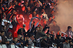 12.03.2011, Stade du Pays, Charleroi , BEL, JL,  Sporting Charleroi vs Standard Liège, im Bild Charleroi 's supporters pictured during Jupiler Pro League Season 2010 - 2011 soccer match R Charleroi SC and  Standard. Saterday Mar. 12, 2011.  EXPA Pictures © 2011, PhotoCredit: EXPA/ nph/  Alain Sprimont       ****** out of GER / SWE / CRO  / BEL ******