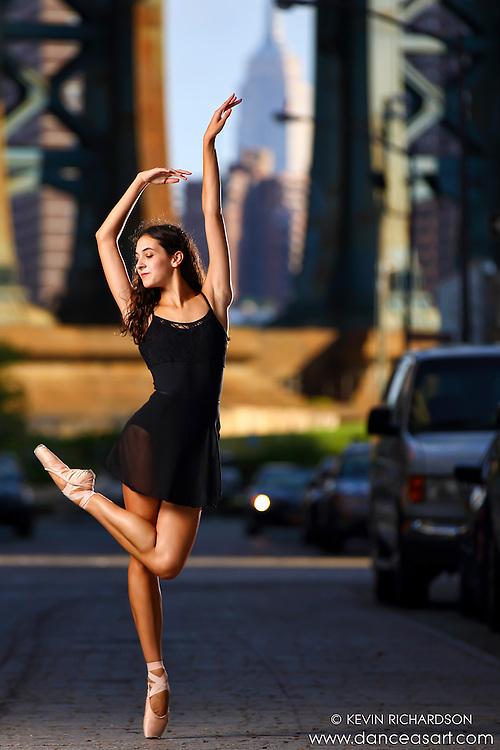 Dance As Art Photography Project- Dumbo Brooklyn, New York with dancer, Erin Aslami