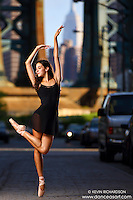 Dance As Art Photography Project- Dumbo Brooklyn, New York with dancer, Erin Aslami