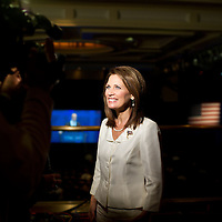 Rep. Michelle Bachmann (R-MN) at the first day of CPAC at the Woodley Park Wardman Marriott hotel on Tuesday, Feb. 7th, 2012 in Washington.