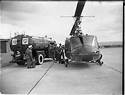 22/08/1962<br /> 08/22/1962<br /> 22 August, 1962<br /> Irish Shell refuelling American President Eisenhower's helicopter at Baldonnel, Dublin.