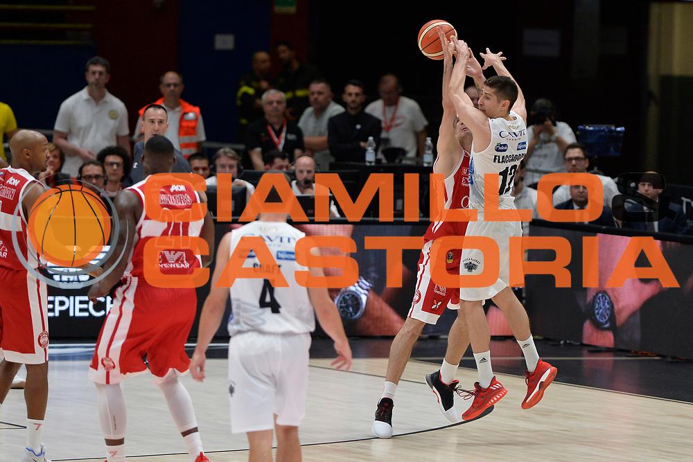 Diego Flaccadori<br /> Olimpia EA7 Emporio Armani Milano vs Dolomiti Energia Trentino<br /> Lega Basket Serie A 2016/2017<br /> PlayOff semifinale gara 2<br /> Milano 27/05/2017<br /> Foto Ciamillo-Castoria / I.Mancini