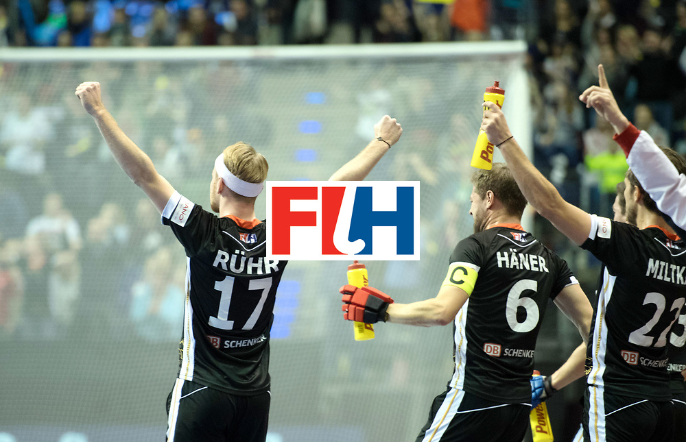 BERLIN - Indoor Hockey World Cup<br /> SF1 Germany - Iran<br /> foto: Christopher R&uuml;hr <br /> WORLDSPORTPICS COPYRIGHT FRANK UIJLENBROEK