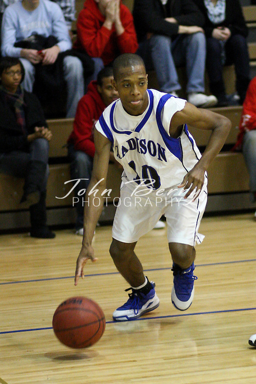 MCHS JV Boys Basketball .vs Monticello Mustangs .1/17/2009