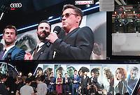 The Avengers: Age of Ultron - European Film Premiere, Westfield Shopping Centre, London UK, 21 April 2015, Photo by Richard Goldschmidt