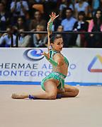 Alessia Russo atleta della società Armonia D'Abruzzo durante la prova di Desio del Campionato Italiano di Ginnastica Ritmica. <br /> La gara si è svolta il 31 ottobre 2015.