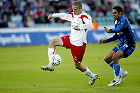 Fotball , 3. september 2007 , Tippeligaen , Stabæk - Fredrikstad 0-2<br />  Daniel Nannskog , Stabæk og Patrik Gerrbrand , FFK