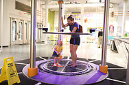 Gemma, mom and dad go to Science Center on her 2nd birthday, Tuesday, Aug. 13, 2019  at Louisville Science Center in LOUISVILLE.