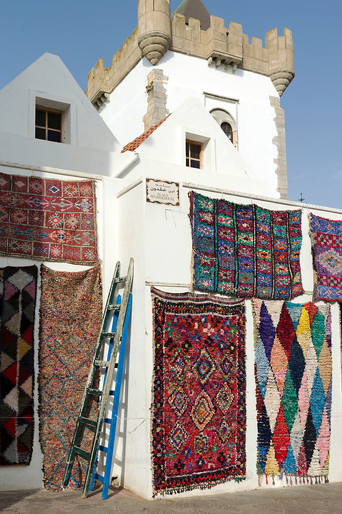 Street Medina architecture, Asilah, Northern Morocco, 2015-08-03. <br />
